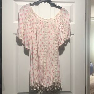 Tularosa off the shoulder dress size xs